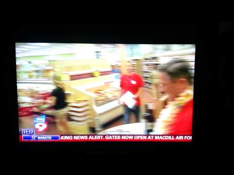 Bay News 9 Trader Joe's Grand Opening