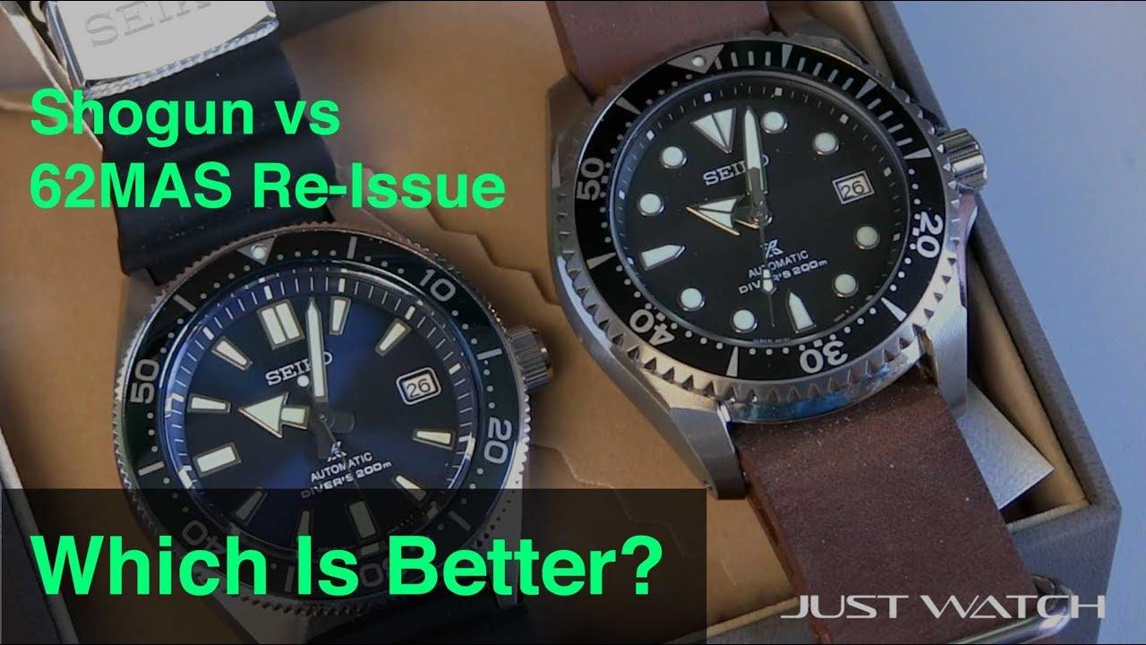 Which Is Better? Seiko Shogun vs 62MAS Re-Issue