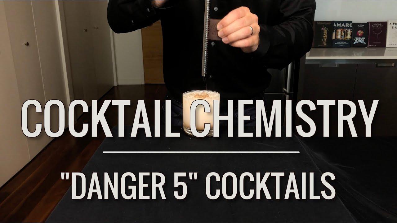 "Download Recreated - ""Danger 5"" Cocktails"