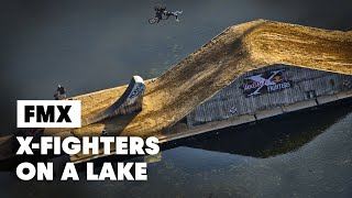 Download Video First Ever FLOATING Freestyle Motocross Course - Red Bull X-Fighters Munich 2014 MP3 3GP MP4