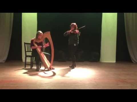Harpist Amy McAllister