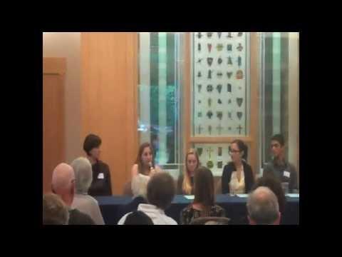 Marin Interfaith Council: Interfaith Youth Panel 2014