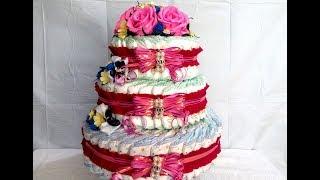 Торт из памперсов, пошагово