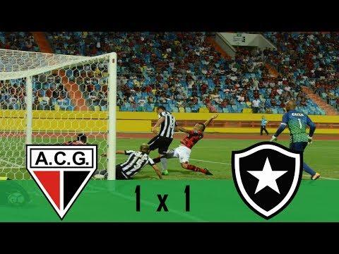 Atlético-GO 1 x 1 Botafogo | Gols e melhores momentos (23/07/2017) FutOnzeHD