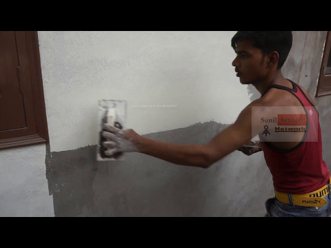 How To Apply Birla White Wallcare Putty on Your Wall