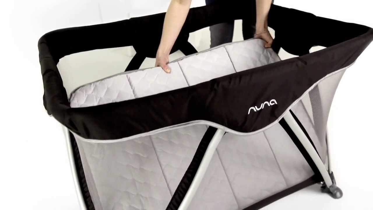 Baby bed for travel - Nuna Sena And Sena Mini Travel Baby Crib