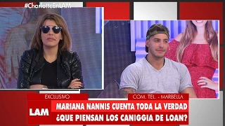 Mariana Nannis no se aguantó y le dijo de todo a Charlotte sobre Loan
