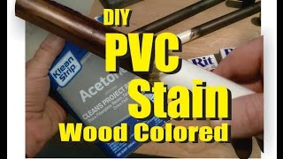 DIY PVC Wood Finish DYE