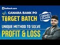 Canara Bank PO Target Batch | Profit & Loss | Free Live Demo Class | Quant with Utkarsh Sir