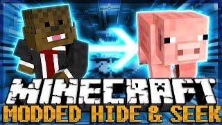 MORPH MOD Minecraft Modded Hide and Seek | JeromeASF