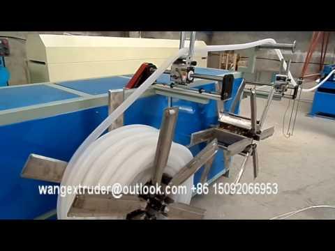 Plastic Flexible Corrugated Pipe Production Line / Extruder Machine