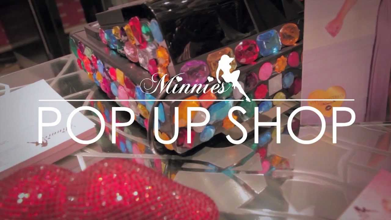 Minnies Boutique: Pop Up Shop - Meadowhall, Sheffield 27/10/12 - ODDTV