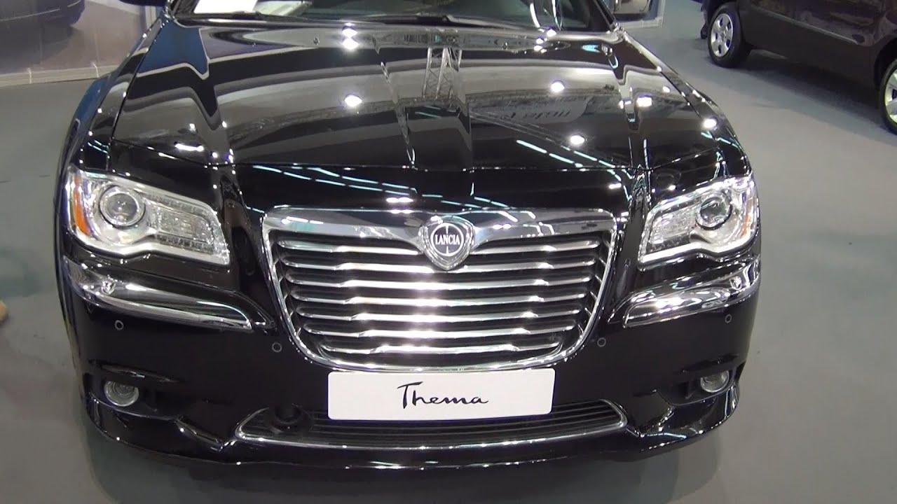 Lancia Thema 3.0 MultiJet 239hp Platinum Exterior and Interior in 3D ...