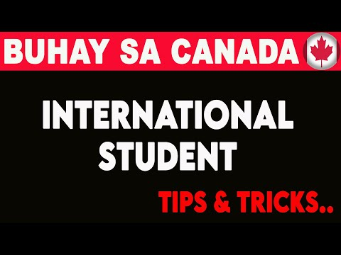 🔴 Tips For International Student In Canada - Buhay Canada