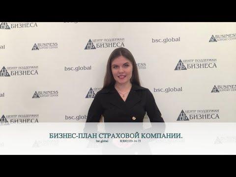 БИЗНЕС-ПЛАН СТРАХОВОЙ КОМПАНИИ