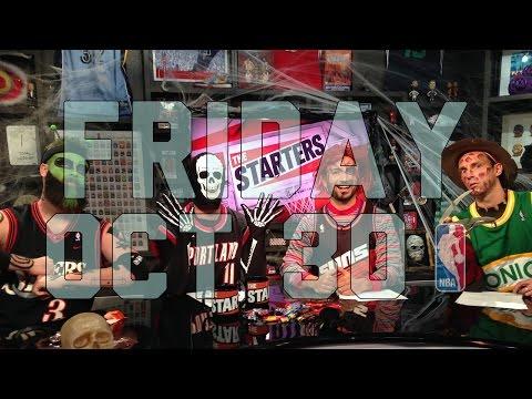 The Starters Halloween Episode - Oct. 30