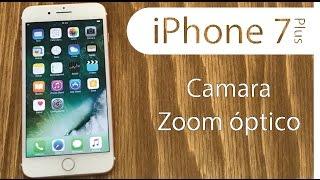 Zoom Optico 2X iPhone 7 Plus doble cámara