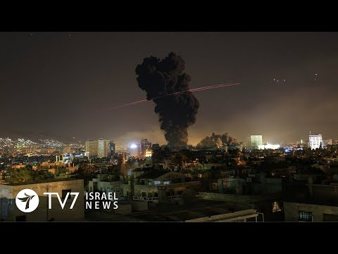 Syria succumbs to fear of Israeli strikes  - TV7 Israel News 28.05.18