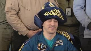 Expedition 49 Crew Receives a Warm Welcome in Kazakhstan and Russia