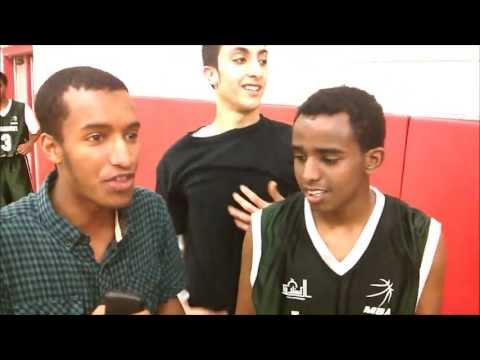 MBA Ottawa - Post Game Interview - Players of the Game - Mohamed Abou (Ginobili) & Amin Ali