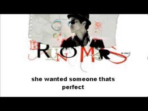 Bruno Mars- Who is? Lyrics