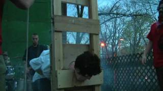 The Guillotine Execution of Michael X. Rose, Guillotine
