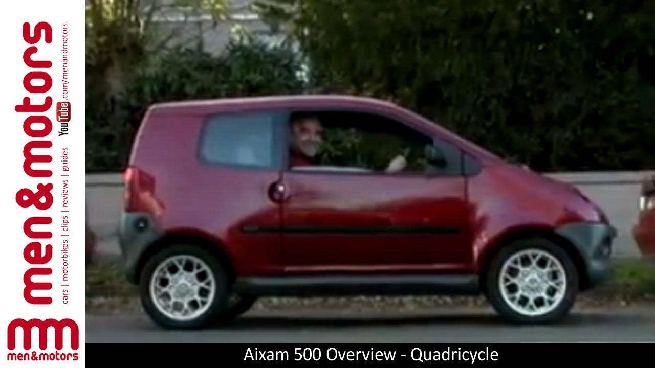 Aixam 500 Overview - Quadricycle
