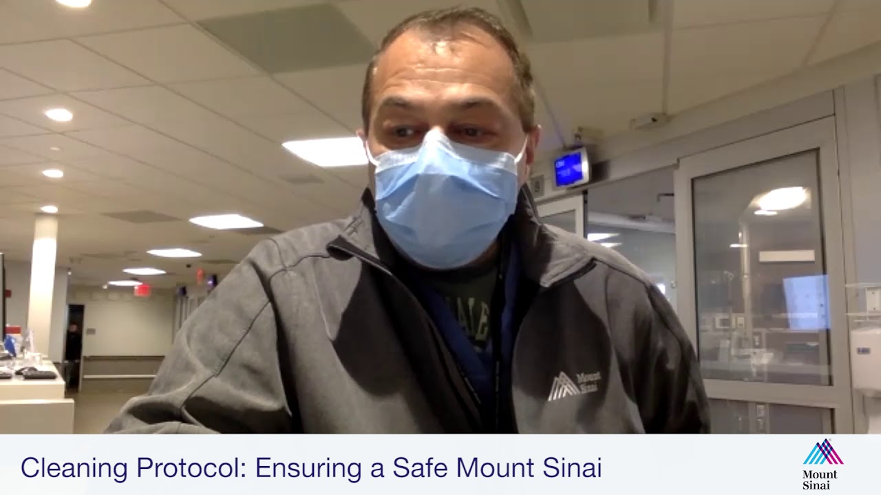 Cleaning Protocol: Ensuring a Safe Mount Sinai