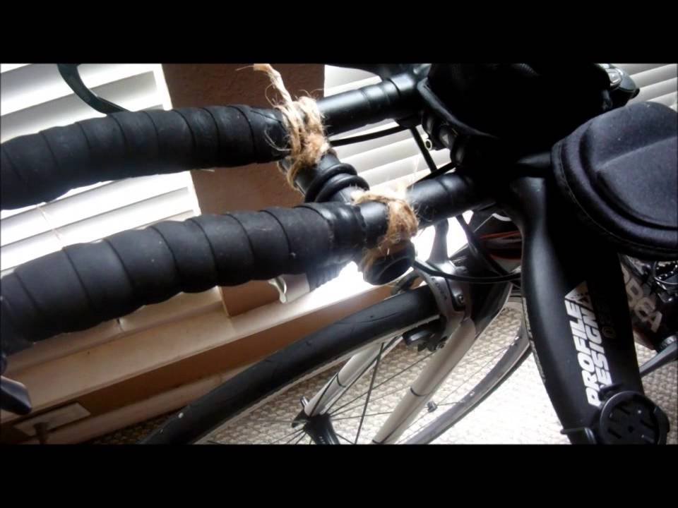 Diy Aerobar Bike Light Mount For 1 00 Youtube