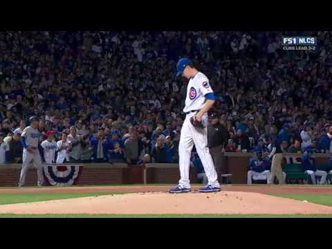 MLB NLCS 2016 10 22 Los Angeles Dodgers@Chicago Cubs Game6 720P