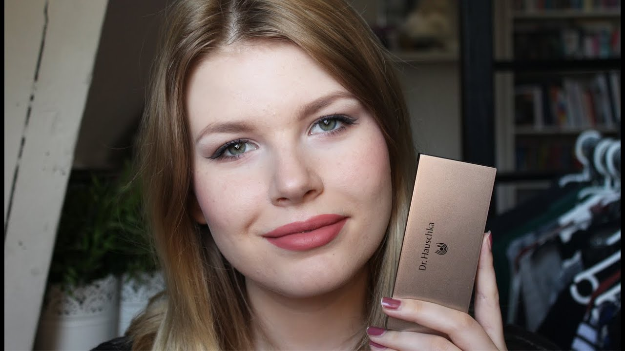 Docteur Ochka entire make-up look with one palette| dr. hauschka - youtube
