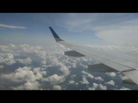 Copa Embraer 190 Approach, Landing, and Taxi in Panama