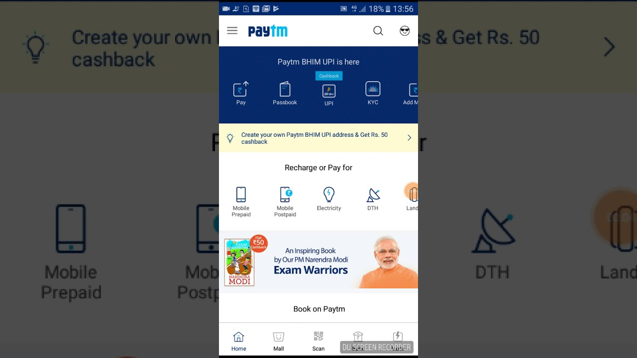 Paytm coupons april 2018 for old users