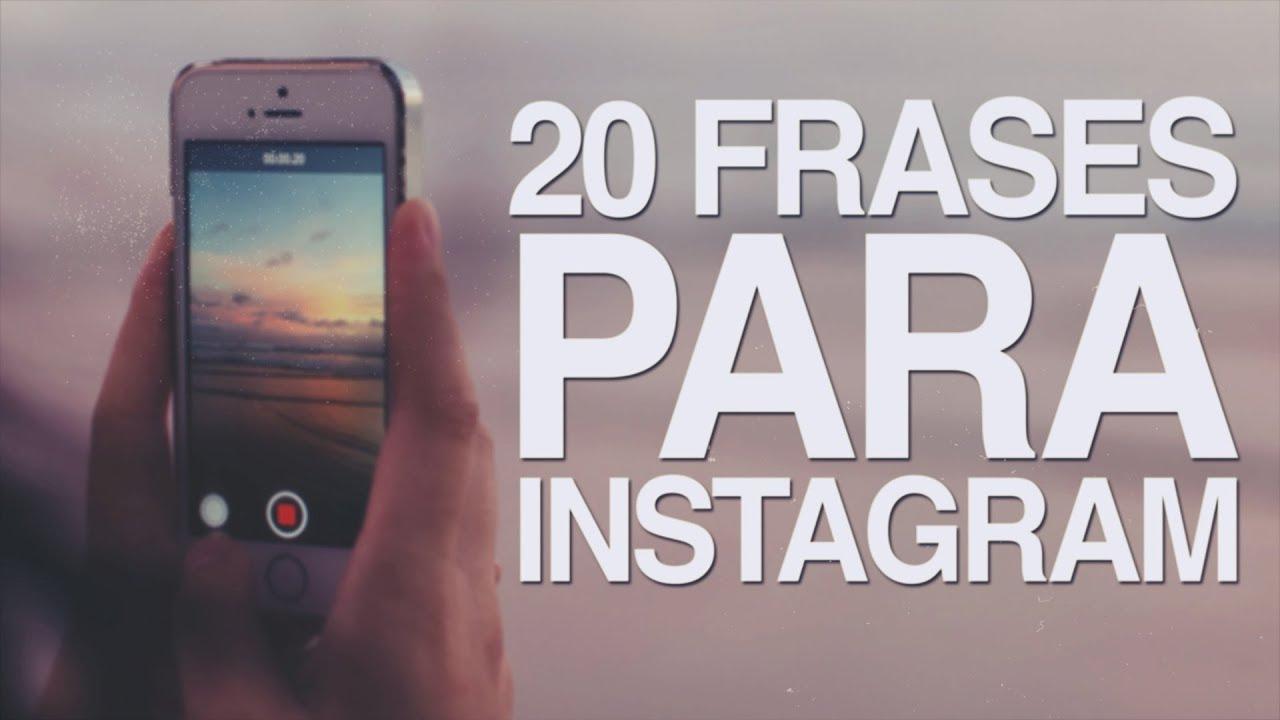 20 Frases Para Instagram La Red Social Más Inspiradora