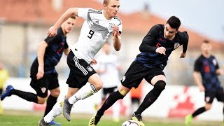 Germany vs. Croatia 2-1 | Full Game | U19 Euro Qualifier | Elite Round