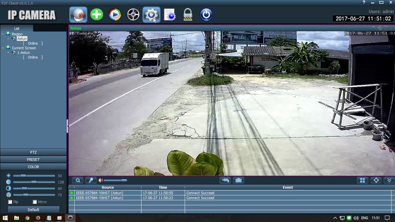 การดูภาพกล้อง WIFI 200 ด้วยโปรแกรม Hip2p Client **มีคำบรรยาย**