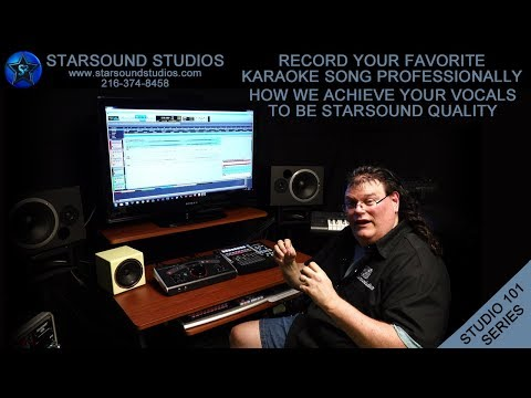 Professional Karaoke Vocal Recording How We Achieve Starsound Quality To Karaoke Vocal  Recordings ✅