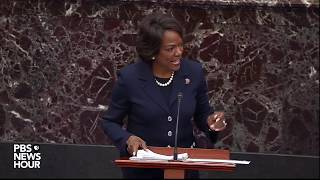 WATCH: Rep. Demings: Trump knew Giuliani's plan to oust Amb. Yovanovitch | Trump impeachment trial