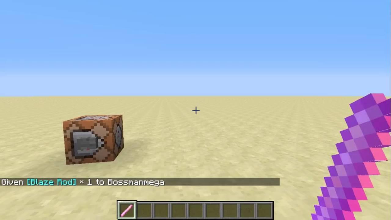 Minecraft Command Block Tutorial #6 | Enchant items with custom levels  (Read Desc )