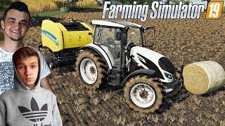 Farming Simulator 19 ☆ Prasowanie słomy i Żniwa Soi ☆ Sąsiedzkie Zmagania #3 ✔ MafiaSolecTeam