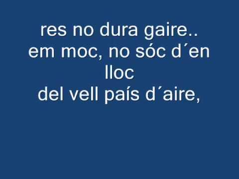 Gerard Quintana-Caic (lyrics)