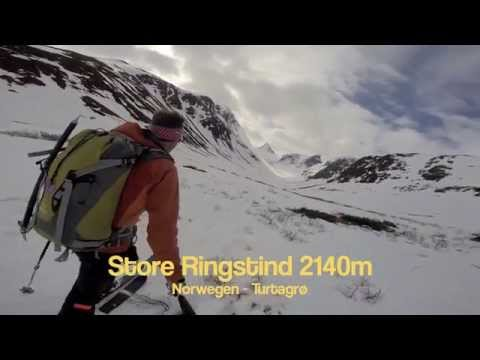 Film   Skitour Turtagrø Topptur Store Ringstind