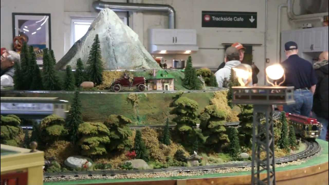 Snyders Model A >> Tom Snyder S Model Train Layout At The Nj Hirailers Trainstock 4