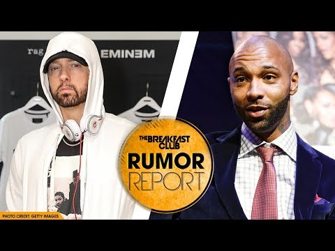 Eminem Goes in Depth About Problems with Joe Budden and Machine Gun Kelly