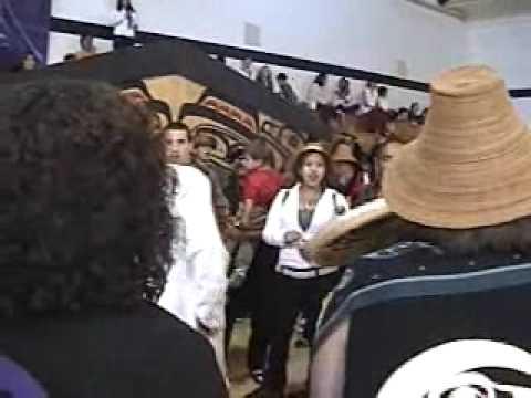 Haida Songs, Old Massett. Video by Archie Stocker Sr.
