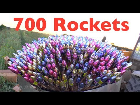 Firework Rocket Mushroom (run for your life)