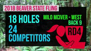 2018 Beaver State Fling - RD4  - FPO - Back 9