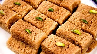 Milk Cake Recipe  Perfect Alwar Ka Mawa Halwai Style  CookingShooking