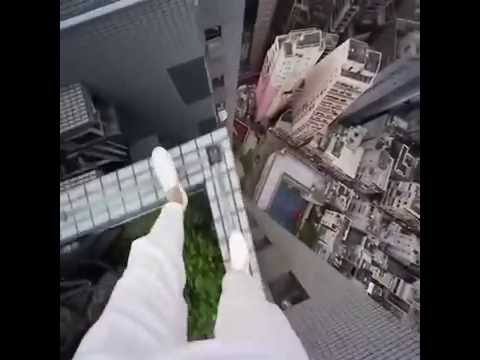Walking on High Building