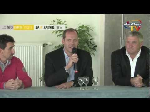 Tour de France 2013 - Conférence de presse Alpe d'Huez